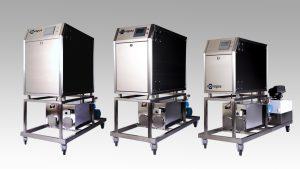 Dampferzeuger für Chemieindustrie in drei verschiedenen Ausführungen
