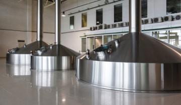 Dampferzeuger in einem lebensmittelverarbeitenden Unternehmen